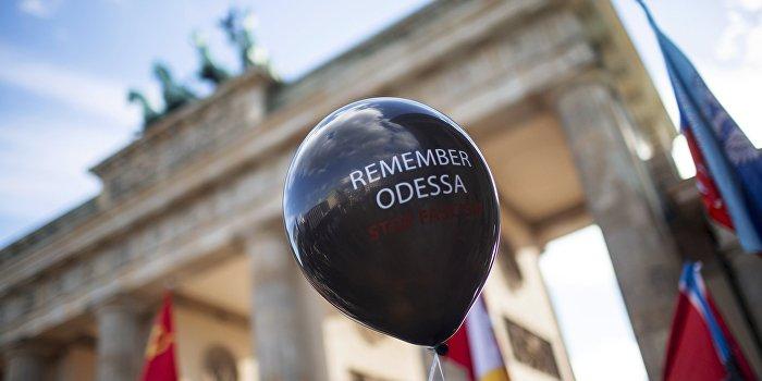 Мир вспоминает жертв трагедии в Одессе