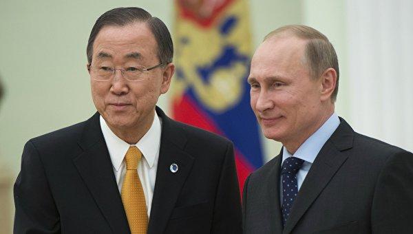 Генсек ООН с визитом прибудет в Киев