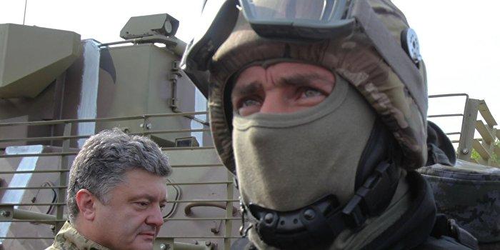 Украинских военнослужащих в Донбассе кормят на 17 гривен в сутки