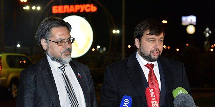 В Минске проходит встреча трехсторонней контактной группы по Украине