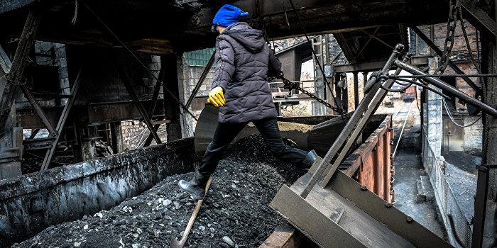 ДНР: 50% всего добываемого угля поставляется на Украину