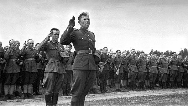 Рассекречены архивы об иностранных частях в составе Красной армии