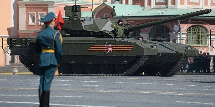 В украинских соцсетях самая обсуждаемая тема - «Армата»