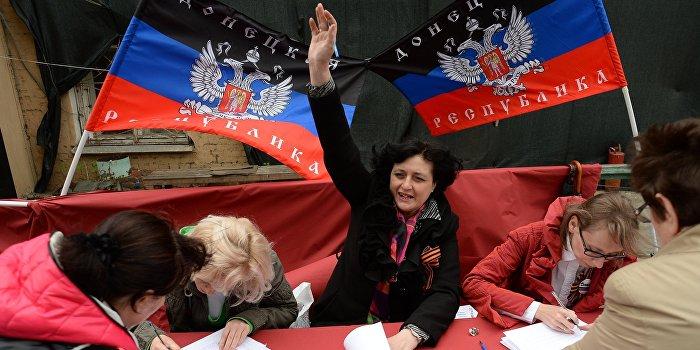 ДНР и ЛНР отмечают первую годовщину референдума о независимости