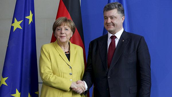 Меркель постаралась исправиться