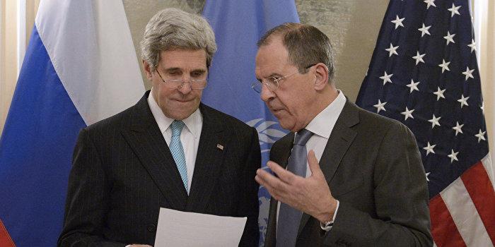 Керри летит в Сочи говорить об Украине с Путиным и Лавровым
