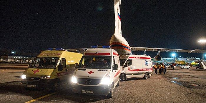 МЧС РФ доставит тяжелобольных детей Донбасса на лечение в Москву