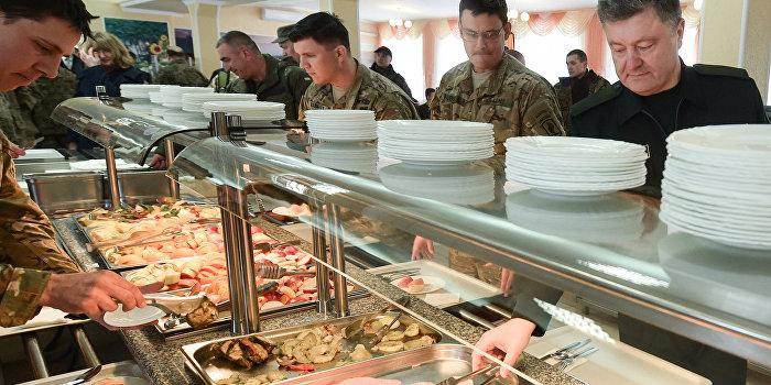 Бойцы ВСУ вынуждены сидеть на хлебе и воде