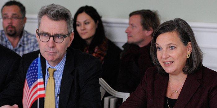 Левочкин и Нуланд обсудили выполнение Минских соглашений
