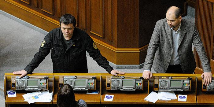 Семенченко: Власть на Украине после Евромайдана так и осталась в руках олигархов