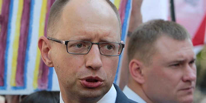 Украинцы устали от жалоб Яценюка на Кремль