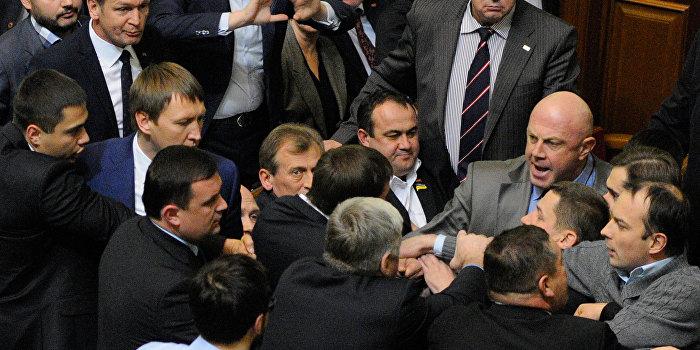 Украинский политолог: Верховная рада совершенно неадекватна