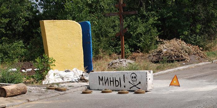 """На Луганщине подорвался военный """"Хантер"""", погибли люди"""