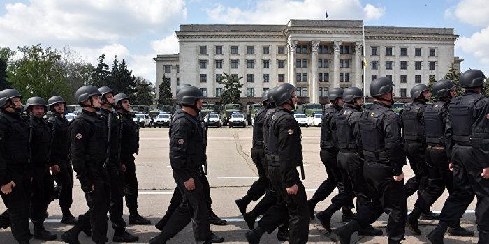 В Одессе подавили митинг Антимайдана