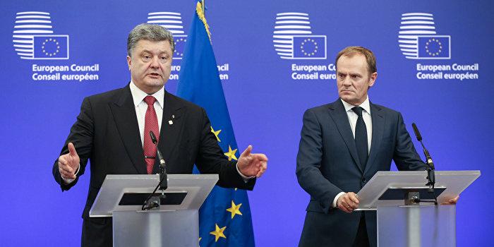 Туск: Обещания о вступлении Украины в ЕС даже в будущем никто не давал