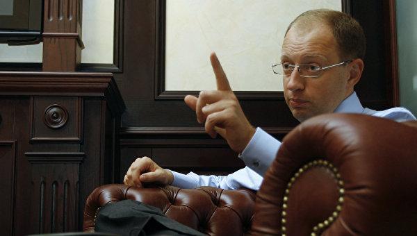 Яценюк отказался отчитываться за деньги международных доноров