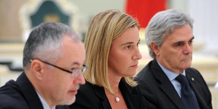 Могерини: Проект «Евросоюз» требует пересмотра