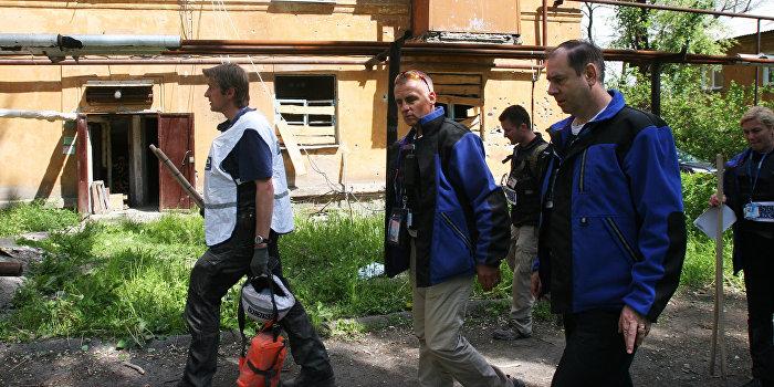 ОБСЕ подтвердила обстрел Горловки из украинской артиллерии