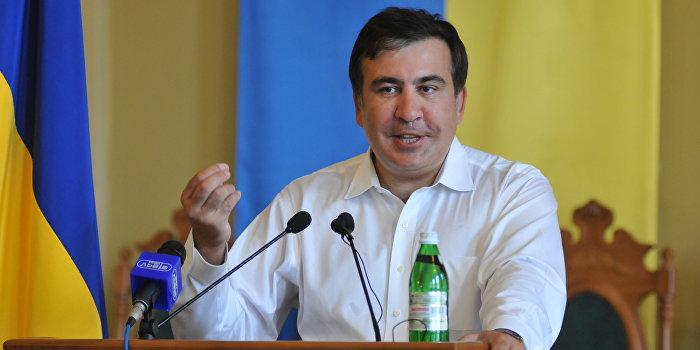 Разыскиваемый Грузией Саакашвили назначен губернатором Одесской области