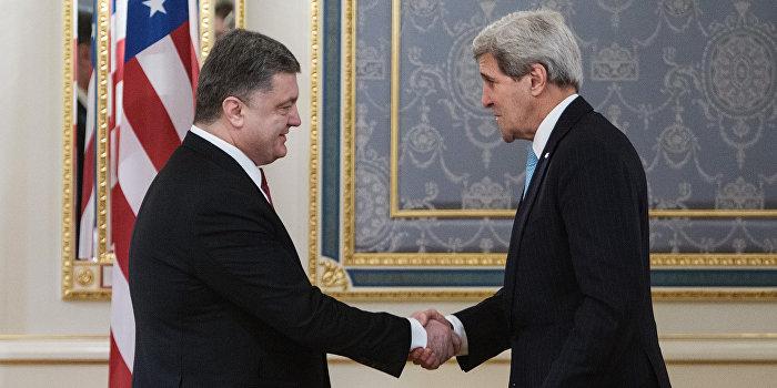 Киев выкручивает руки Вашингтону