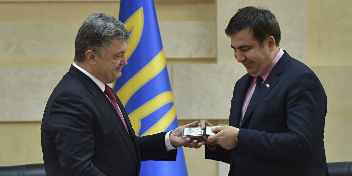 Die Zeit: Назначение Саакашвили - это самая смешная шутка уикенда