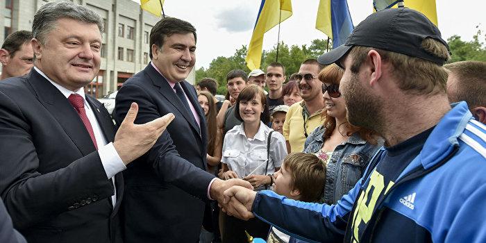 Ирония судьбы: Грузин бежал от президента Саакашвили в Одессу