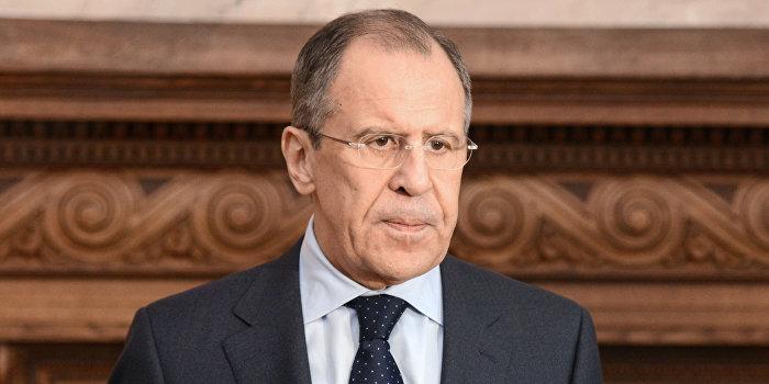 Лавров сравнил атаку на Сирию с вторжением американских войск в Ирак