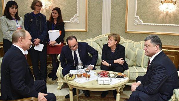 Путин акцентировал внимание на диалоге между Киевом и Донбассом