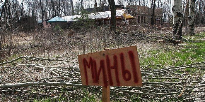 Украинский офицер: ВСУ использовали в Донбассе противопехотные мины