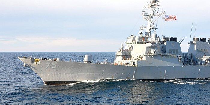 В Одесский порт зашел американский эсминец USS Donald Cook