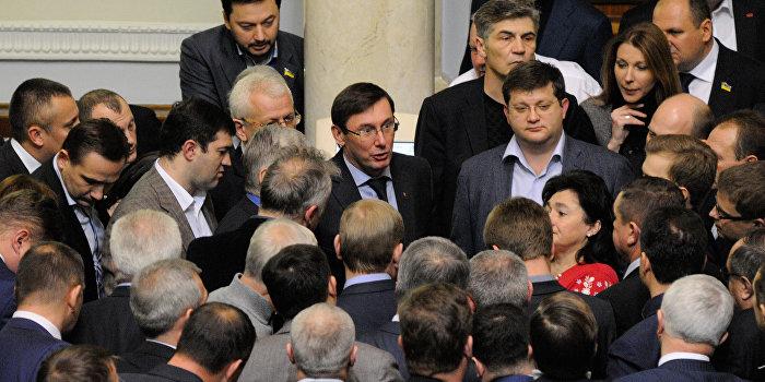 Исключенные из фракции «Самопомощь» народные депутаты перебежали в «Блок Петра Порошенко»