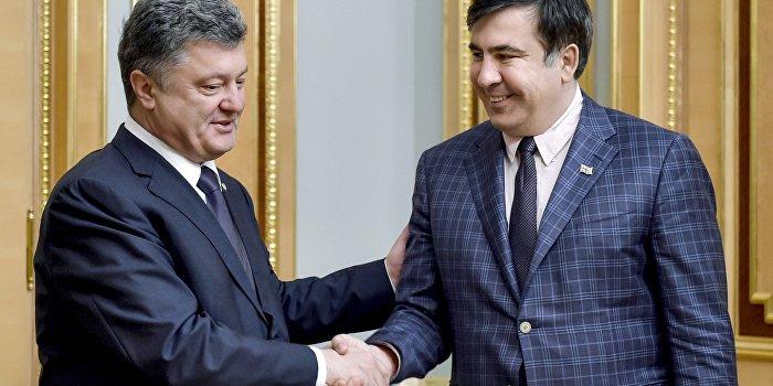 Украинцы требуют назначить Саакашвили премьер-министром