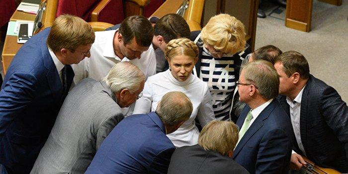 Юлию Тимошенко обвиняют в терроризме