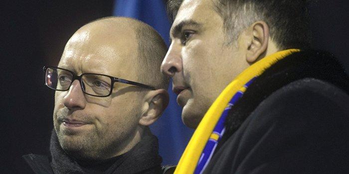 «Война» Саакашвили с Яценюком продолжается