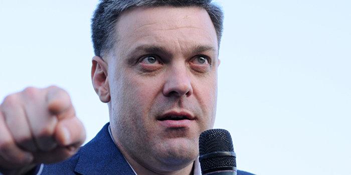 Тягнибок подает в суд на Авакова