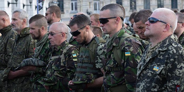 Батальон «ОУН» получил приказ идти на Киев для освобождения задержанных «побратимов»
