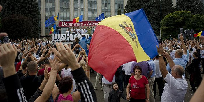 Поджигание Молдавии