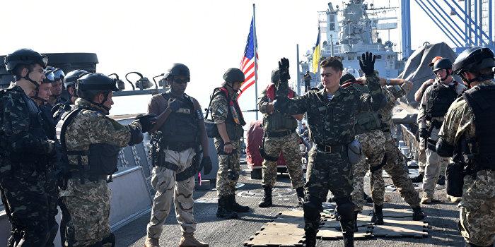 Украинская армия учится у американцев «противостоять гражданскому населению»