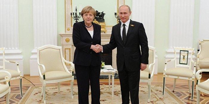 Меркель отметила позитивные моменты в работе с Россией