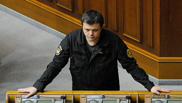 Семенченко призвал превратить Донбасс в концлагерь