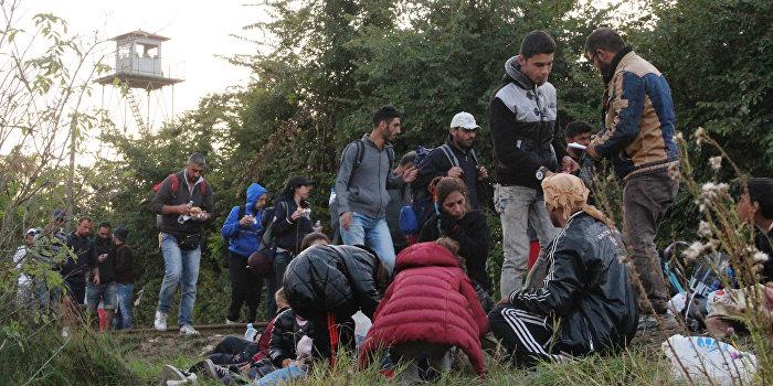 Шведский политик предложила расстреливать беженцев из пулемета