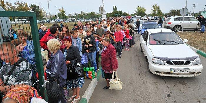 Contra Magazin: Украинцы - «беженцы третьего сорта»