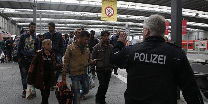 В Германии беженцев разместили на территории концлагеря Бухенвальд