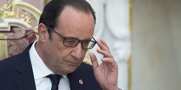 Американский телеканал назвал Олланда «тупицей недели»