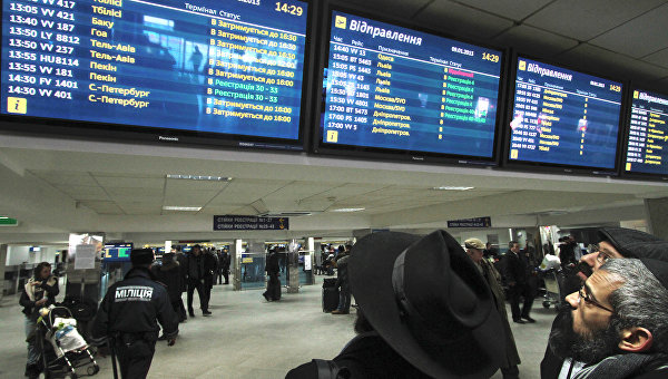 Евросоюз отправил все пассажирские борта из Украины на «красный коридор»