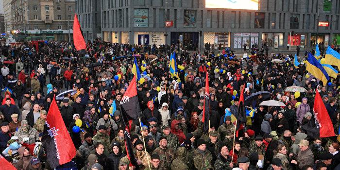 «Правый сектор» присоединяется к блокаде Крыма