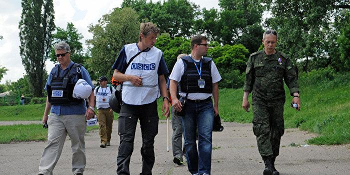 ОБСЕ: В Донбассе создаются условия для политического процесса