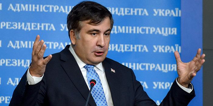 Саакашвили видит угрозу в блокаде Крыма