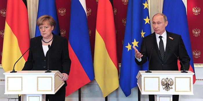 Марш в Германии: «Меркель в Сибирь! Путина в Берлин!»