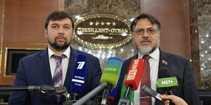ДНР и ЛНР предлагают Киеву провести местные выборы 21 февраля